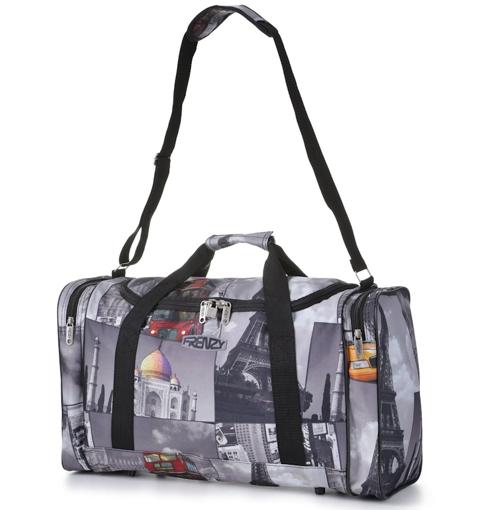 Obrázok z Cestovní taška CITIES 825 - šedá - 32 L
