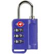 Obrázok z Bezpečnostní TSA kódový zámek na zavazadla ROCK TA-0006 - modrá