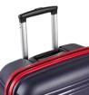 Obrázok z Cestovní kufr ROCK TR-0164/3-L PP - černá/modrá - 104 L