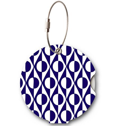 Obrázok z Jmenovka na kufr Addatag - Japan Blue