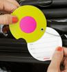 Obrázok z Jmenovka na kufr Addatag - Owl Yellow