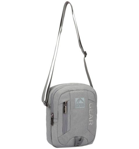 Obrázok z Taška přes rameno GEAR 9005 - šedá - 5 L