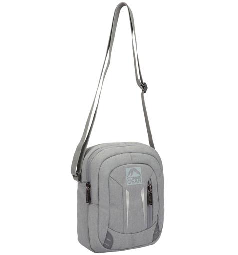 Obrázok z Taška přes rameno GEAR 9006 - šedá - 5 L