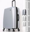 Obrázok z Cestovní kufr MIA TORO M1713/3-L - stříbrná - 101 L + 25% EXPANDER