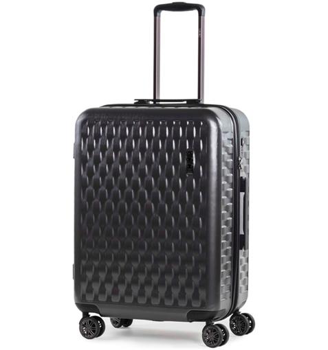 Obrázok z Cestovní kufr ROCK TR-0192/3-M ABS/PC - charcoal - 63 L