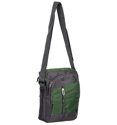 Obrázok z Taška přes rameno REAbags LL22 - šedá/zelená - 4 L