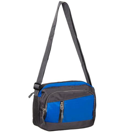 Obrázok z Taška přes rameno REAbags LL21 - šedá/světle modrá - 4 L