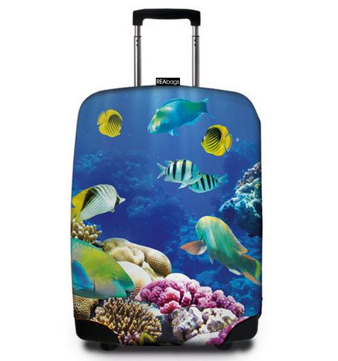 Obrázok z Obal na kufr REAbags® 9055 Deep Sea