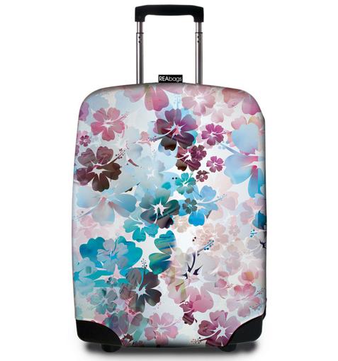 Obrázok z Obal na kufr REAbags® 9056 Beach Flowers
