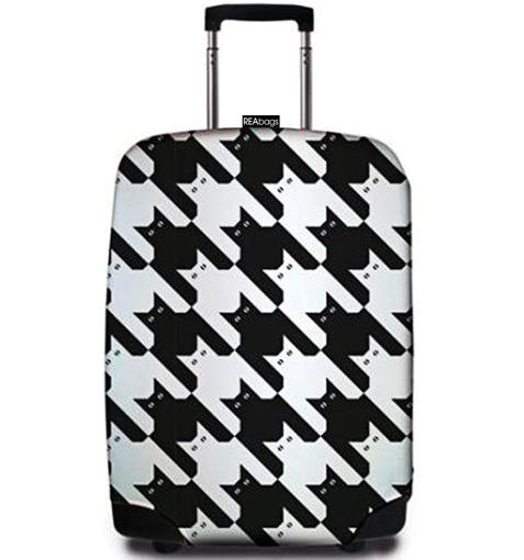 Obrázok z Obal na kufr REAbags® 9069 Pied de Chat