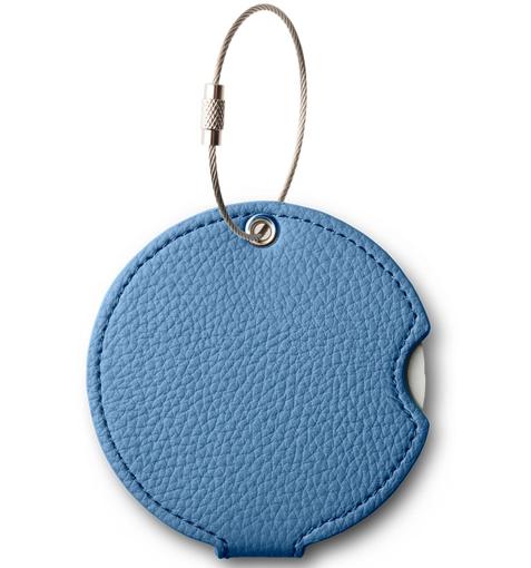 Obrázok z Jmenovka na kufr Addatag PU - Steel blue